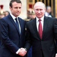マクロン大統領、プーチン大統領と会談「ロシアと対話せずに重要な問題に取り組んではならない」、会談の結果