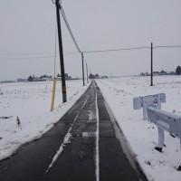 雪はそこそこ。。。