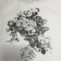 薔薇を盛る水の静けさ古文書に記されしごと光を満たし