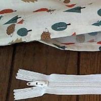木々とハリネズミ柄の布団カバー 3