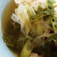 山菜料理(?)のレシピ しびれ豚しゃぶ