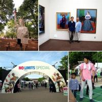 上野で絵画展とパラリンピックイベント