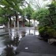 天気は雨模様