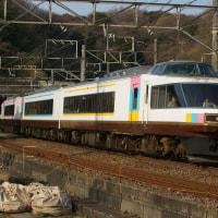 2017年3月25日 東海道貨物線 東戸塚 485系 カーペットトレイン NO.DO.KA (のどか) 9825M