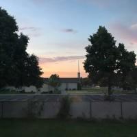 昨日の夕景