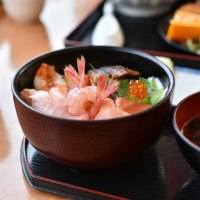 海鮮丼×2日