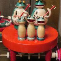広井政昭さんの江戸独楽展へ行きました 2017年1月