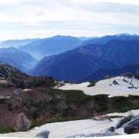 12月8日の薬師岳からのパノラマ(8年前ですよ~)