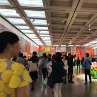 草間彌生展とメットガラ(ドレスをまとった美術館)