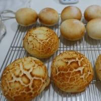 ホシノで丸パンとドライイーストでダッチブレッド(タイガーブレッド)