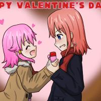 バレンタインとリゼ誕
