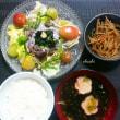 7月10日のお弁当 と 日曜日のお昼