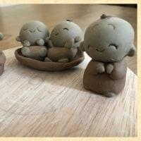 小さな陶人形