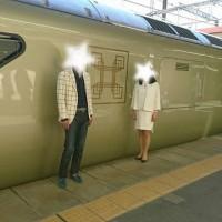 JR東日本の豪華寝台列車「トランスイート四季島(しきしま)」 in 武田鮮魚店