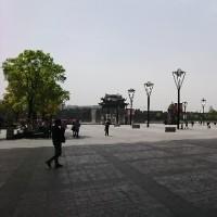 蘇州到着!!タクシーがまだ来ていません。。。