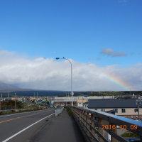 虹の樽前山