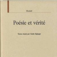 Poésie et vérité, Alfred de Musset