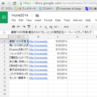 Google Apps Script を利用してRSSやHTMLを読み取る