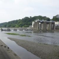 多摩川取水堰