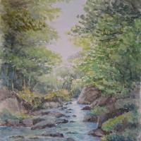 北秋川の渓谷