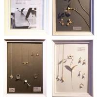 ジュエリー展 「植物と金属と」 アトリエモズ 3/30まで開催
