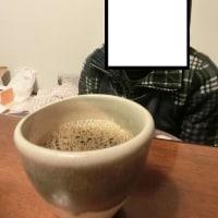 夕食後にドリップ珈琲『コロンビアスプレモ』75g分 @ たまにはスイーツ無しで珈琲のみ(;^_^A