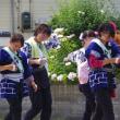 土崎神明社例祭の人々