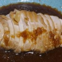 鶏ムネ肉の醤油煮