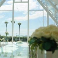 ラヴィマーナ神戸の結婚式撮影 青空と雲