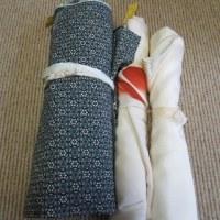 小紋付け下げ 洗い張り 正絹素材