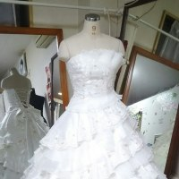オーバードレスが完成しました(*^_^*)