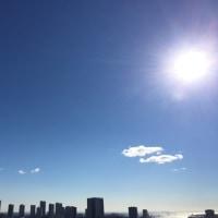 1/21の朝の空