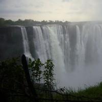 「東南アフリカ」編 ジンバブエ側から見たヴィクトリアの滝8 MAIN FALLS 2