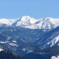春の兆し~白い経ヶ岳
