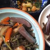 信州では山菜ですね。
