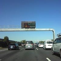 土曜日は渋滞