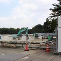板橋ナーシングホーム解体中
