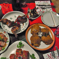 2011年楽子家クリスマスディナー