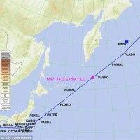 転載: 日本近海を飛行していた飛行機のパイロットが目撃した謎の赤く輝く海面