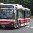 狛江営業所の新型エルガ