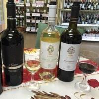 """幸運を招く南イタリアワイン""""イル・プーモ""""をはじめ4種類のワインが試飲できます♪"""