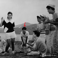 三角八郎さんの追加写真と、作品完成時の集合写真