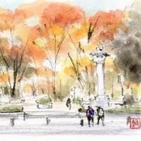 久屋大通公園・南京広場の華表