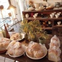 明日は月に一度の空のパン販売日です