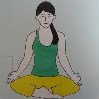 『心と体によく効く引き寄せ瞑想ヨガ』(日本文芸社)