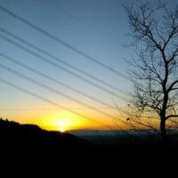 日の出山600m 初日の出
