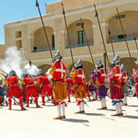 マルタ島の旅 【Ⅷ】聖エルモ砦で開催の「イン・ガーディア」へ