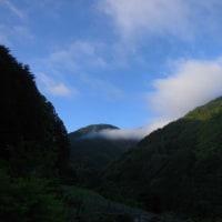 平成29年5月27日・今朝の東祖谷9.1℃