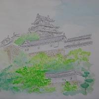 絵 姫路城