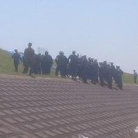 消防団利根川水系合同水防訓練